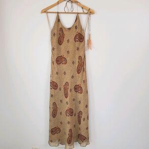 Lauren Ralph Lauren Silk Slip Dress
